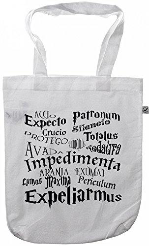 my-tagshirt - Organic Fashion Bag - Zauberspruch - 100% Bio - Fairtrade