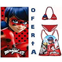 avmax Lady Bug Set Playa EN Oferta (Toalla-Mochila Y Bikini