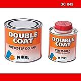 De IJssel Double Coat 2K Bootslack - Farbe rot