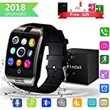 Bluetooth Smartwatch, Wasserdicht Smart Watch Uhr mit SIM Kartenslot Touchscreen Kamera Whatsapp, Intelligente Armbanduhr Sport Fitness Tracker Armband fur Android iphone ios Samsung Sony Huawei Damen Herren Kinder