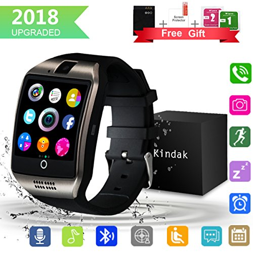 Bluetooth SmartWatch, Waterproof Smart Wrist Watch Telefono con Touchscreen Camera...