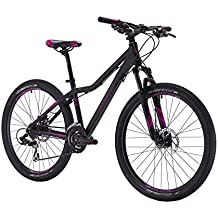 "Bicicleta de Montaña de 26"" con Suspension 2 Frenos de Disco 21V montada en Shimano Color Negro MTB 5553488"
