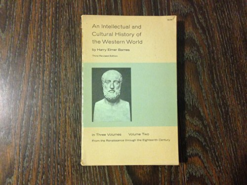Intellectual and Cultural History of the Western World: v. 2