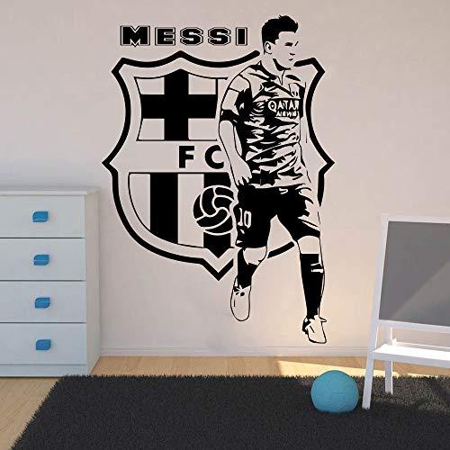Jugadores fútbol Etiqueta pared Habitación niños