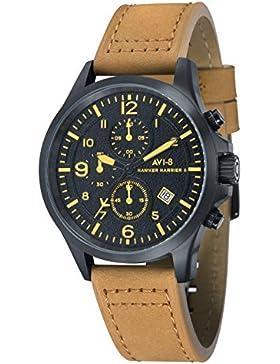 AVI-8 Herren- Armbanduhr Flyboy Analog Quarz