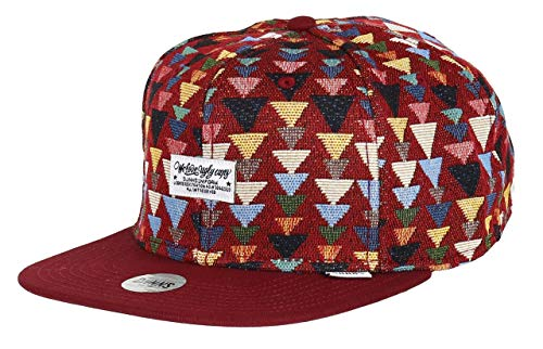 Djinns We Love Ugly Triangle (wine) - Snapback Cap Baseballcap Hat Kappe Mütze Caps