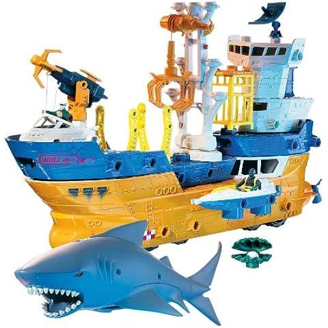 Mattel K9947 Matchbox - Barco de juguete
