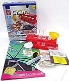 EDU Toys Kleiner Experimentierkasten Chemie Experimente mit Alltagsgegenständen Chemielabor für