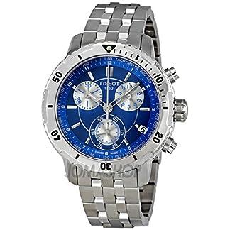 Tissot Tissot PRS 200 Cronógrafo Azul Dial Cuarzo Deporte Mens Reloj T0674171104100