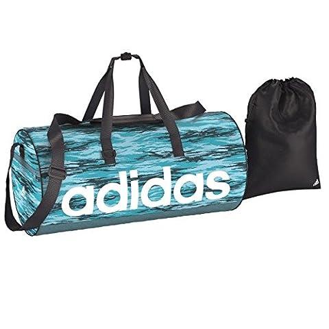 adidas Damen Linear Performance Team Sporttasche, Iceblu/Conavy/White, 60 x 29 x 29 cm, 50.5 Liter