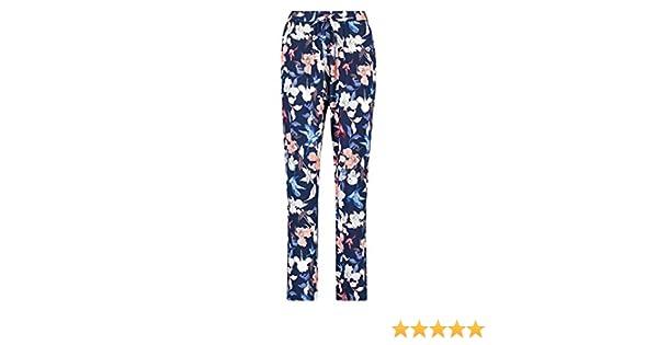 HUNKEM/ÖLLER Pantalon de Pyjama Capri Woven