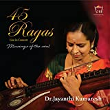 #3: 45 Ragas Live in Concert Veena Instrumental MP3 CD