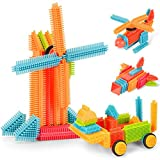 NextX Building Blocks Stickle Bricks Set Toddlers Educational Toys Gift for Kids Boys & Girls