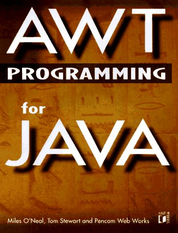 Awt Programming for Java Oneal Hardware