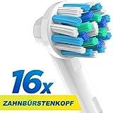 Cross Action Têtes de brosses de rechange compatible avec Oral-B brosse à dents électrique Poignées. De Rechange...