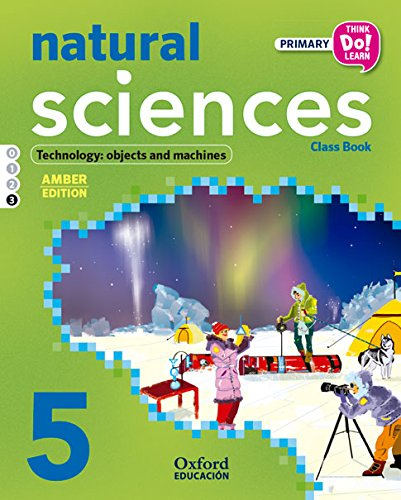Natural Science. Primary 5. Student's Book. Amber - Module 3 (Think Do Learn) - 9788467396423