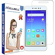 CELLBELL Tempered Glass Screen Protector For Xiaomi Redmi Y1 Lite With Installation Kit