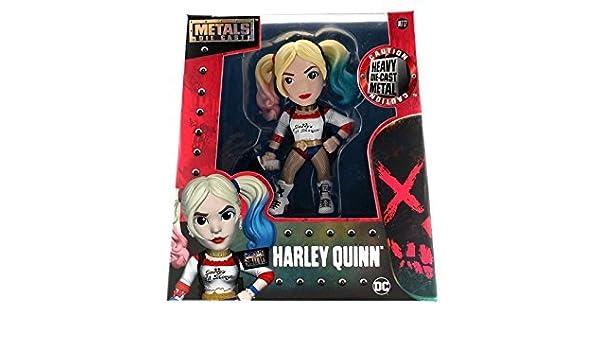 """HARLEY QUINN MOVIE DIECAST FIGURE NEW 97568 JADA 4/"""" METALS SUICIDE SQUAD"""