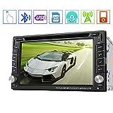"""EinCar Win8 6.2 """"in Stereo dash Doppio Din nuovo quadro DVD GPS Sat Nav Touchscreen supporto alla navigazione Bluetooth / RDS / subwoofer / sistema di parcheggio controllo del volante"""
