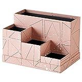 Ikea TJENA Schreibtisch Organizer Pink Schwarz 303.982.25Größe 7X 6¾