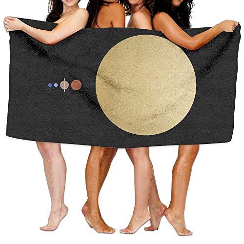 Fedso Toalla de Playa Solar System Ultra Absorbente de Microfibra para baño...