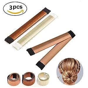 Hair Bun Accessories Hair Bun Maker Tool,3 PCS French