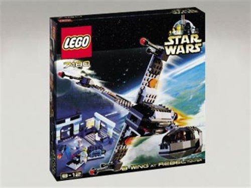 LEGO 7180 Star Wars B-Wing & Rebellenkontrol.