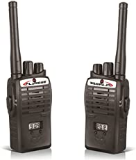 Baby N Toyys Walkie Talkie Set - Black (Includes Two 9 V Batteries)