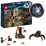 LEGO 75950 Harry Potter Aragog's Lair Building Set, Spider Toy, Wizarding World Gifts, Multicolored
