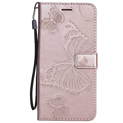 DENDICO Cover Galaxy J4 Plus, Pelle Portafoglio Custodia per Samsung Galaxy J4 Plus Custodia a Libro...
