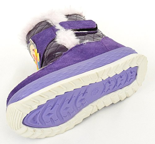 Kinder Stiefel Boots lila, blau Lila