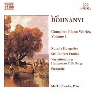 Komplette Klavierwerke Vol. 1
