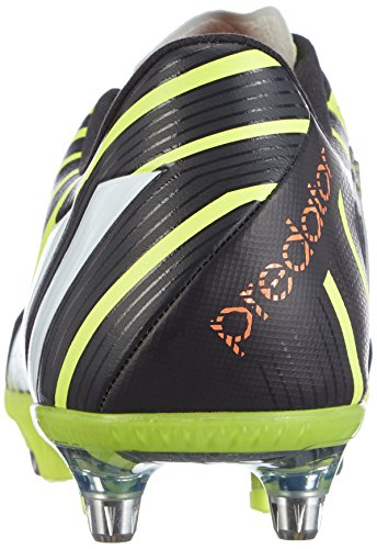Adidas Predator Instinct Sg, Chaussures de Football Homme Jaune (light Flash Yellow S15/ftwr White/dark Grey)