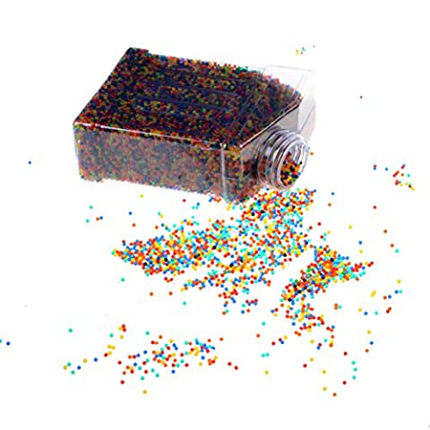 Water Beads Rainbow Mix Sensory Toys and Vase Filler for Wedding Centerpiece Flower Arrangements - 20,000 Beads