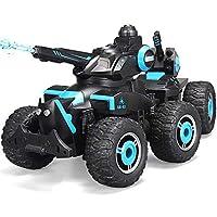 Markc Teledirigido fresco del coche de seis ruedas Drive pie grande Escalada Todoterreno recargable tanque carro de seis ruedas Stunt niños de coches de juguete de chorro de agua de seis ruedas de car