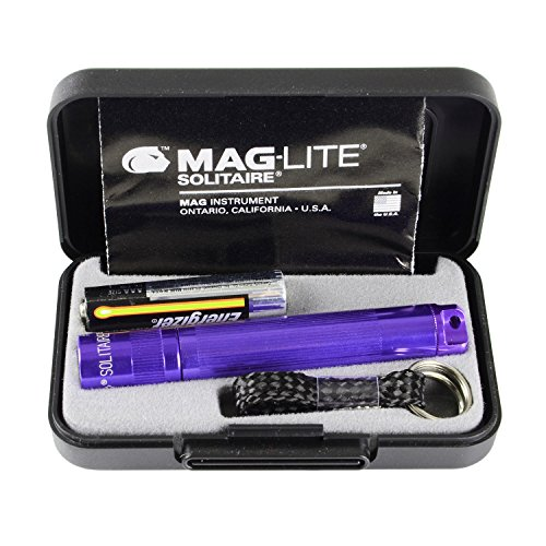Maglite Solitaire lampe torche AAA Violet