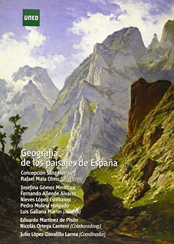 Geografía de los paisajes de España (GRADO)