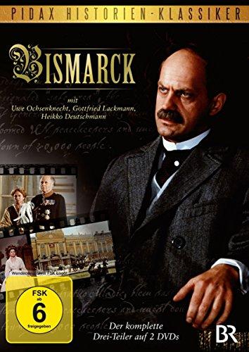 Bismarck – Der komplette 3-Teiler mit Starbesetzung über das Leben des EISERNEN KANZLERS (Pidax Historien-Klassiker) [2 DVDs]