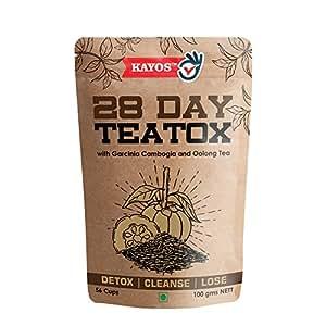 Kayos 28 Day Teatox with Garcinia Cambogia and Oolong Tea (100 gms)