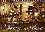 Nostalgie in Sepia (Wandkalender 2019 DIN A2 quer): Nostalgie und Kult aus den 50er, 60er und 70er Jahren in sanften Sepiabraun (Monatskalender, 14 Seiten ) (CALVENDO Kunst)