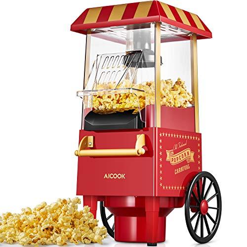 Aicook Machine à Pop Corn, 1200W...