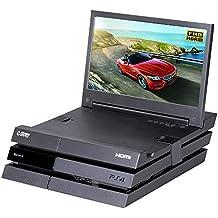 Der 11,6-Zoll HDR FHD 1080p mobile augenschonende Gaming-Monitor für die PS4 (gehört nicht zum Lieferumfang) von G-STORY mit FreeSync, HDMI-Kabel und integrierten Multimedia-Stereo-Lautsprechern