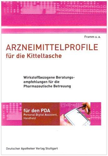 Arzneimittelprofile für die Kitteltasche für den PDA. CD-ROM