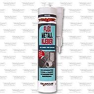 KIM-TEC FLEX Metall Kleber 310ml weiß, Sehr gute Haftung auf Metalloberflächen