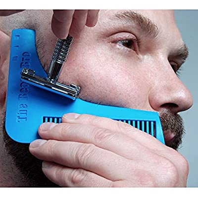 The Beard Bro- #1 Facial Hair Shaping Tool for Perfect Lines & Symmetry