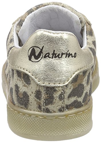 Naturino Naturino 4065, Baskets Basses fille Multicolore - Mehrfarbig (GOMMA/LEO GLITTER/LAMINATO PLATINO-MULTICOLOR)
