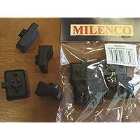 Milenco almohadillas Aero Mirror V. Pack de cuatro