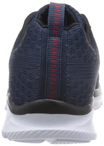 Skechers  EqualizerQuick Reaction, Sneakers basses homme NOir (NVY)