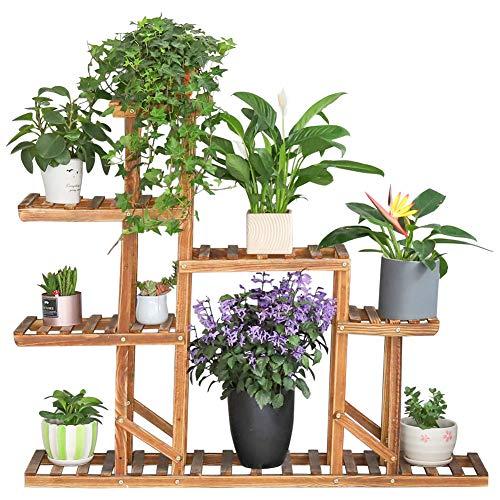 Blumenregale Blumenleiter Holz