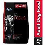 Drools Focus Adult Super Dog Food, 15kg (+1.2 kg Free Inside)